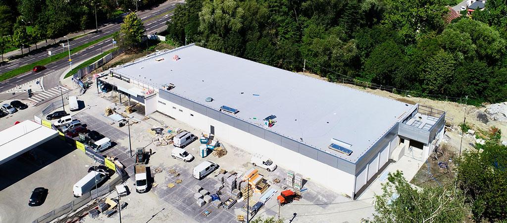 Generalny wykonawca inwestycji budowlanych - budowa obiektu handlowo-usługowego Bielsko Biała