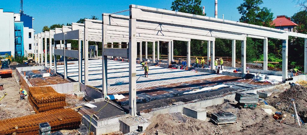 Generalny wykonawca inwestycji budowlanych | Budowa obiektu handlowo-usługowego Bielsko Biała, ul. Partyzantów