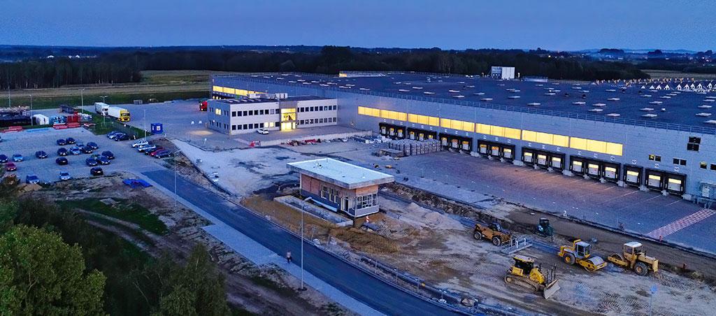 Design & Build - Roboty budowlane - centrum logistyczne Tarnów