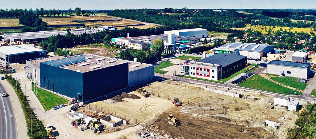 Design & build Rozbudowa zakładu produkcyjnego Oogniochron - Andrychow