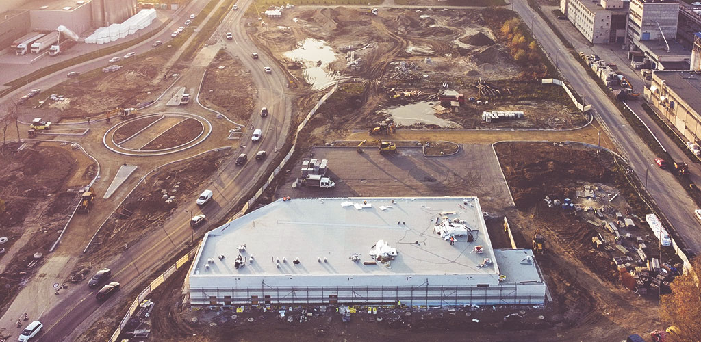 Port Oświęcim – roboty budowlane